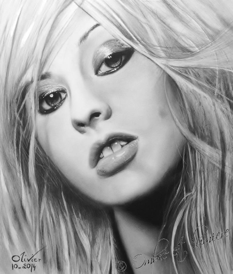 Christina Aguilera by Draw68